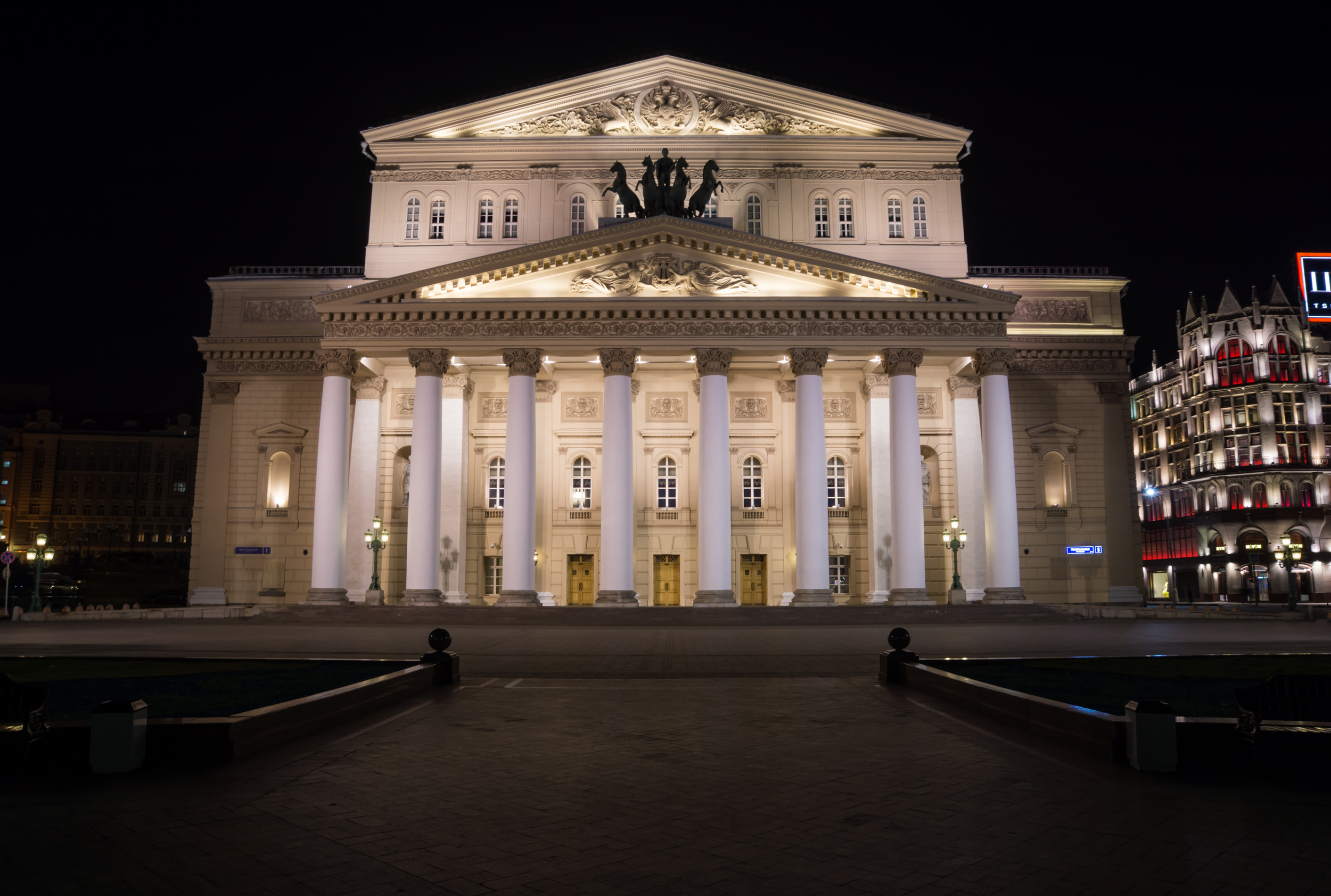 Moscow theatres